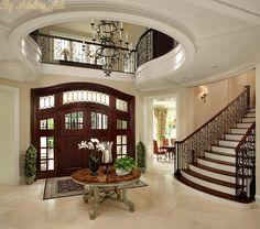 luxury interior house design for you 1 > Fieltro. Mansion Interior, Dream House Interior, Dream Home Design, Modern House Design, Luxury Interior, Home Interior Design, Exterior Design, Apartment Interior, Modern Interior