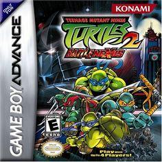 Teenage Mutant Ninja Turtles 2: Battle Nexus Konami