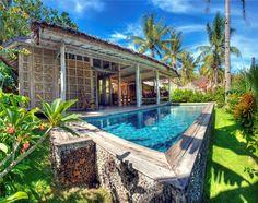 This one but bit far from the beach - Les Villas Ottalia (Gili Trawangan, Gili Islands):