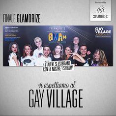 Stasera alle 21 vi aspettiamo..#Siamoises sponsor #GMA Glamorize Roma al Gay Village! http://on.fb.me/THjCcP