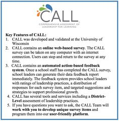 Donna Moe Has Been Using Call To Support School Improvement