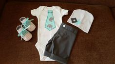 Check out this item in my Etsy shop https://www.etsy.com/listing/274997752/4-pieces-newborn-boy-take-home-outfit