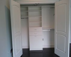 closet ideas for rooms without closets | Closet Ideas for Lighting ...