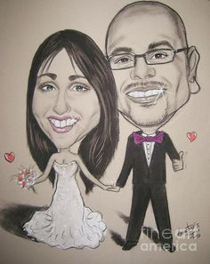 caricatures to order