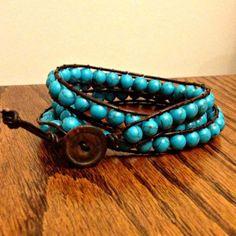 DIY Wrap Bracelet {tutorial} | Sometimes Homemade
