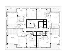 Galería - Complejo de Casas y Tiendas / Ameller, Dubois & Associés - 13