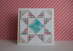 """Lawn Fawn Video {3.16.16} Pretty """"Quilted"""" Cards by Lizzy 