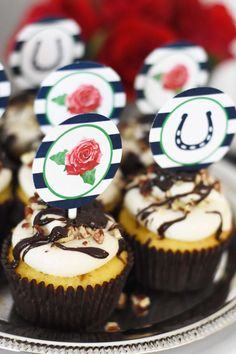 Derby Pie Cupcakes - Everyday Party Magazine