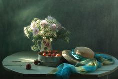 Stil life with Strawberry by Galina Pazderina on 500px