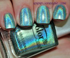 Scrangie: Color Club Halo Hues Holographic Nail Polish Collection Spring 2013 Swatches and Review
