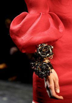 Lanvin flower cuff