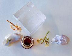 ICICLE natural perfume. frangipani, linden, orris, melissa, oakmoss, opoponax. milky down dew drop ice wine perfume. organic essential oils. by WildVeil on Etsy