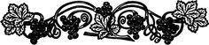 Public Domain Grapevine Image! - The Graphics Fairy