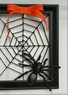 Spiderweb Wreath!  T