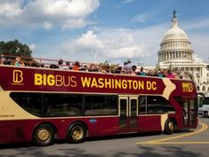 Hop on Hop off Bus Tour - We took the Double Decker Bus from Union Station for a two day pass.  Tour the whole route to get your bearings and then stop to do what you want.  Use the bus stop at the Washington Monument or the Lincoln Memorial to walk over to the War memorials. More than 50 stops throughout Washington - w/48 hour option, you'll get a free 50-minute cruise along the Potomac River. This tour also includes a ticket to Madame Tussauds Museum and two walking tours.