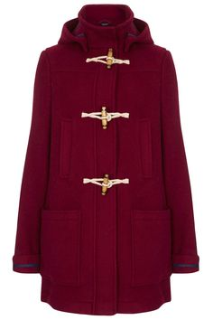 What Would Snow White Wear? Bound Seam Duffle Coat from Topshop.