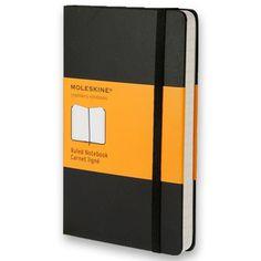 Moleskine Classic Notebook - Large, Black, Ruled