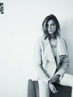 Isabel Marant FW 2013 2014, Daria Werbowy by Karim Sadli l #fashion