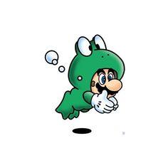 Mario 'Frog Suit'
