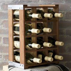 Case Wine Rack in Wine Accessories | Crate and Barrel