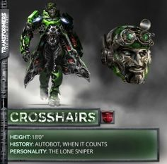 Transformers 5: The Last Knight Crosshairs Robot Mode Revealed!