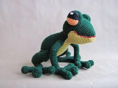 Looking for your next project? You're going to love Frog PDF Crochet Pattern by designer ScareCrow Orig.