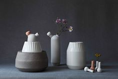 Biophilia - ceramics inspired by the growth of plants