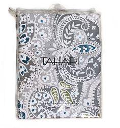 Shower Curtain Fabric Tahari Home Diamond Damask In Teal