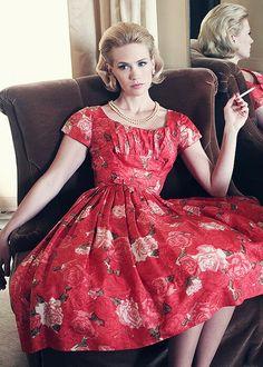 January Jones. She's gorgeous!