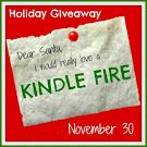 Holiday Giveaway: Kindle Fire