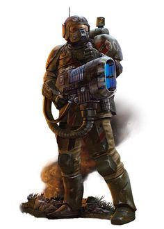 Imperial Guard with Plasmagun