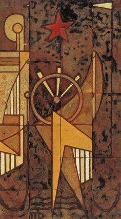 .:. Βαλσαμάκης Πάνος – Panos Valsamakis [1900-1986] Greek Paintings, 10 Picture, Greek Art, Painters, Tiles, Clock, Artists, Pictures, Room Tiles
