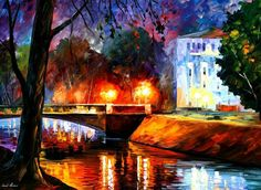 Leonid Afremov ~ Memories of the First Love
