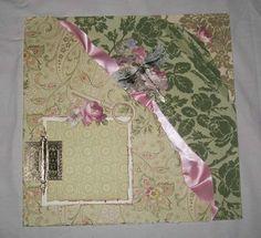 Anna Griffin Pre-made Scrapbooks | Distressed Anna Griffin Pre Made Scrapbook by VintageParisMarket, $26 ...