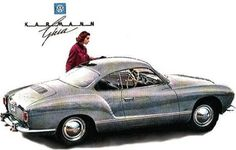 Karmann Ghia catalog page