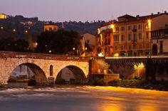Ponte Romana de Verona, Itália