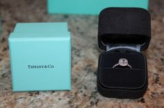 Again, Tiffany Soleste. Omg please dear lord can I have this!? I only need like .5 Carat with the double halo!