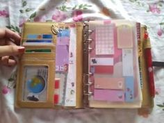 "Updated Faux ""Filofax"" Planner Set-up"