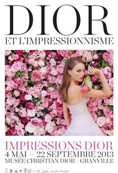 Dior広告ポスター