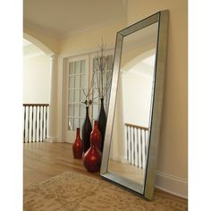 """Have to have it. This is the perfect size. I plan to use it at the end of a hallway. My dimensions are 80""""H x 33""""W so this one is perfect. Detroit Oversized Mirror - 32W x 80H in. $379.98 @ SIMPLY MIRRORS"""