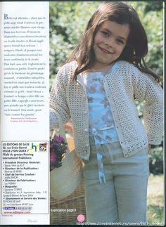 Ouro Crochet: Filial da jaqueta!