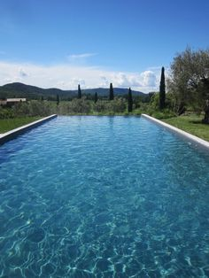 A Relaxing Vacation Home in Provence – Design*Sponge Places Around The World, Around The Worlds, Garden Landscape Design, Cool Pools, Pool Designs, The Great Outdoors, Outdoor Spaces, Swimming Pools, Beautiful Places