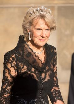 Princess Irene, sister of Princess Beatrix - the former Dutch Queen - celebrates her 75 birthday. Here she is at a royal dinner at the Rijksmuseum in Amsterdam last year.