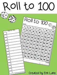 to FREE 100 chart games, printable, and a bonus 120 chart!FREE 100 chart games, printable, and a bonus 120 chart! Maths Guidés, Math Classroom, Kindergarten Math, Teaching Math, Guided Maths, Classroom Layout, Preschool, Math Stations, Math Centers