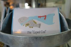 Whimsical Cape Cod art from Kim Crumrine of Water Street Designs