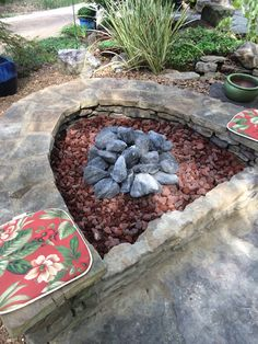 A new Gas Fire Pit! How awesome it is to turn the key and BAM, instant fire! Stone Masonry, Outdoor Kitchens, Fireplaces, Stepping Stones, Key, Awesome, Outdoor Decor, Fireplace Set, Fire Places