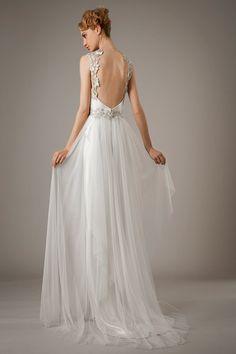 Backless Wedding Dresses - Beautiful Wedding Gowns | Wedding Planning, Ideas & Etiquette | Bridal Guide Magazine