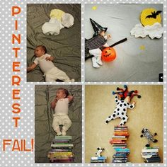 These pictures don't stack up to the Pinterest idea. #pinterestfail