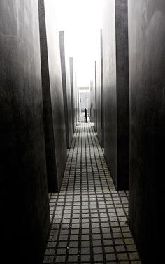 Holocaust Memorial by architect Peter Eisenmann, Berlin, 2005 // photo by William McClung, 2010