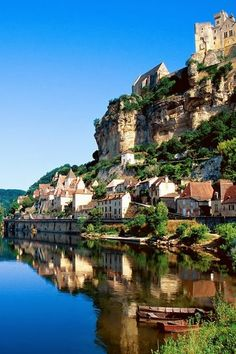 Dordogne River--there's nothing weird or eery about this place- - it's a part of Europe that we don't hear about often and it's beautiful